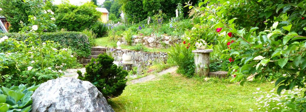 Chalet Im Rosengarten 16 06 2019 Tag Des Offenen Gartens Im Dreilandereck Hessen Thuringen Niedersachsen